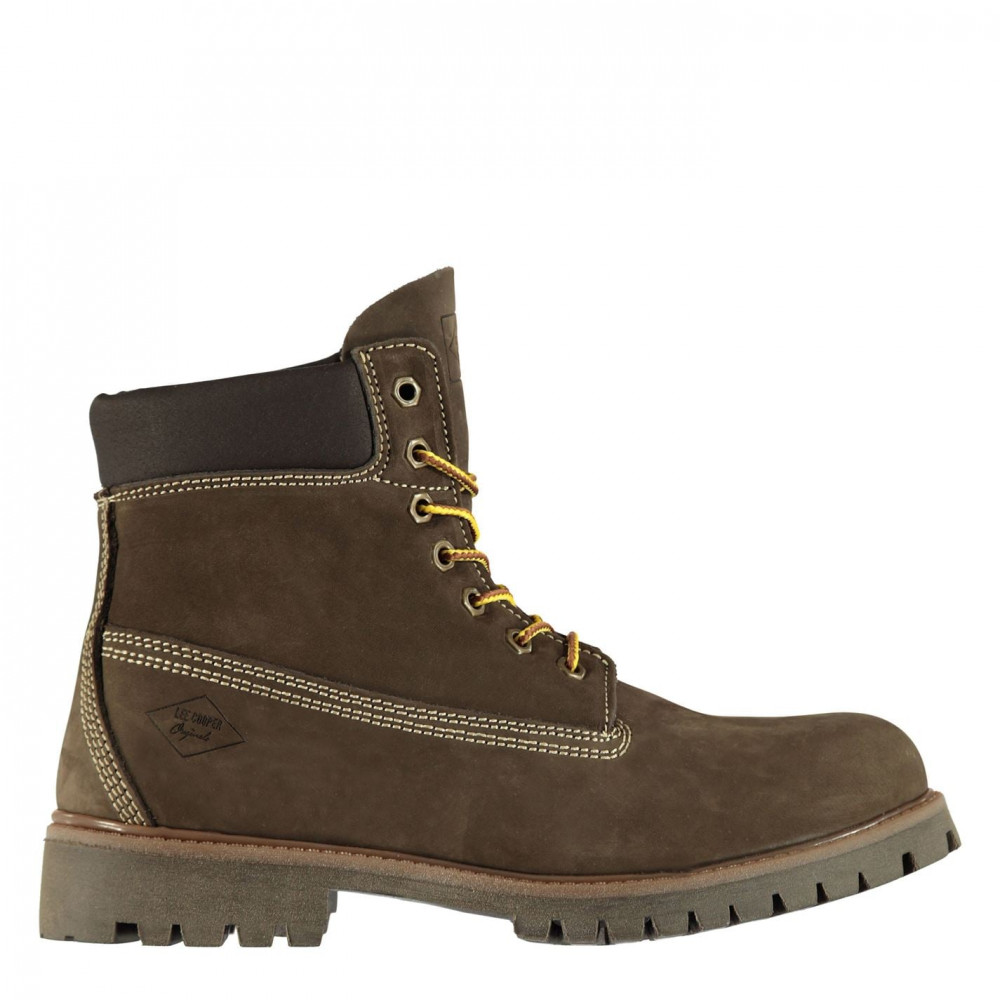 Lee Cooper 6in Mens Rugged Boots