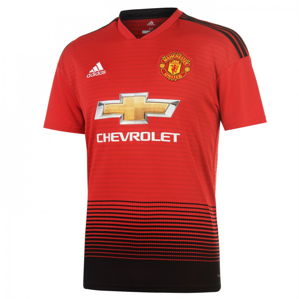 Adidas Manchester United Home Shirt 2018 2019