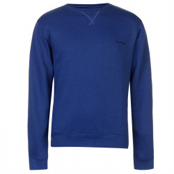 Pierre Cardin Crew Neck Fleece Sweatshirt Mens